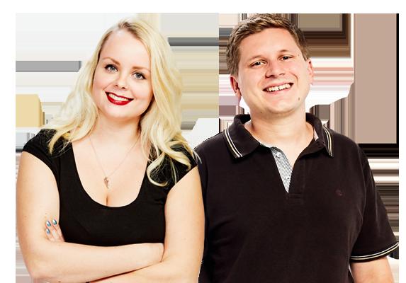 Katharina Tschackert und Tobias Siegwart